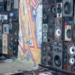 Speakers Wall (detail)