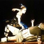 "1999. ""Audio Ballerinas and Electronic Guys"" Theatre am Hallesches Ufer / Berlin."