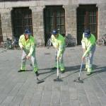 Audio Vacuum Cleaners. 2009. Ypres, Belgium.
